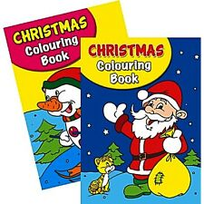 2 X A4 150 Page Jumbo Children\'s Christmas Colouring Books Book Fun ...