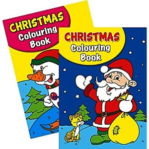 2 x A4 150 PAGE  JUMBO CHILDREN'S CHRISTMAS COLOURING BOOKS BOOK FUN PICTURES 5060082935688