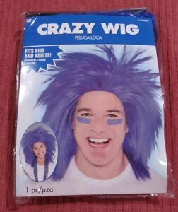 RED CRAZY WIG for ADULTS or KIDS ~ Birthday Halloween Party Supplies Costume