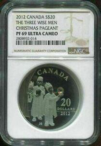 2012-CANADA-20-the-THREE-WISE-MEN-CHRISTMAS-PAGEANT-NGC-PF69-UC-w-PACKAGING
