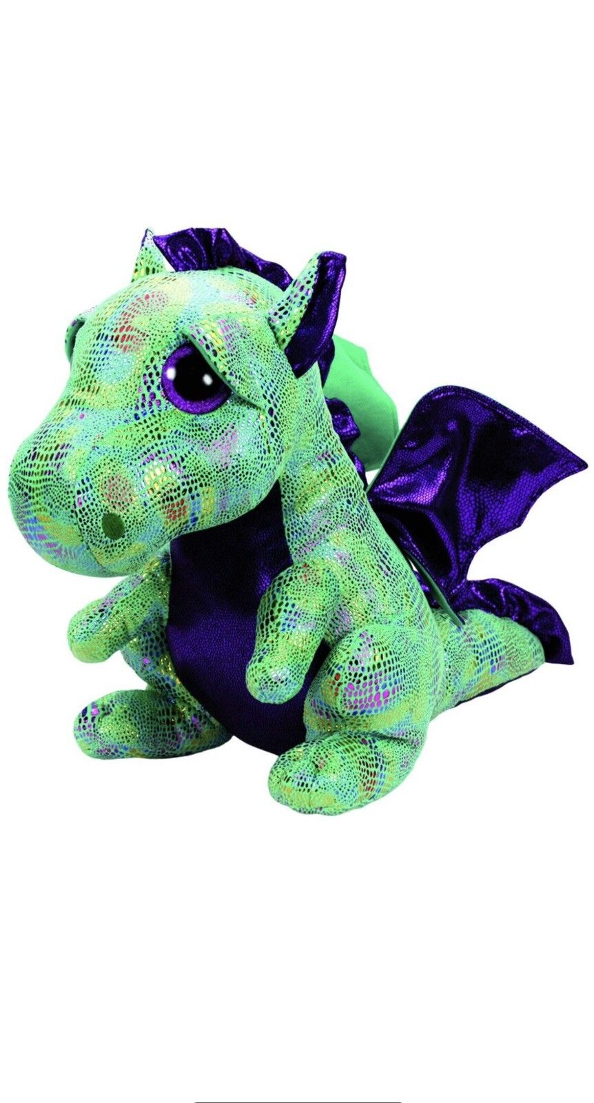 4d02bc452d5 Ty Beanie Babies 37099 Boos Cinder The Dragon Large Boo Buddy for ...