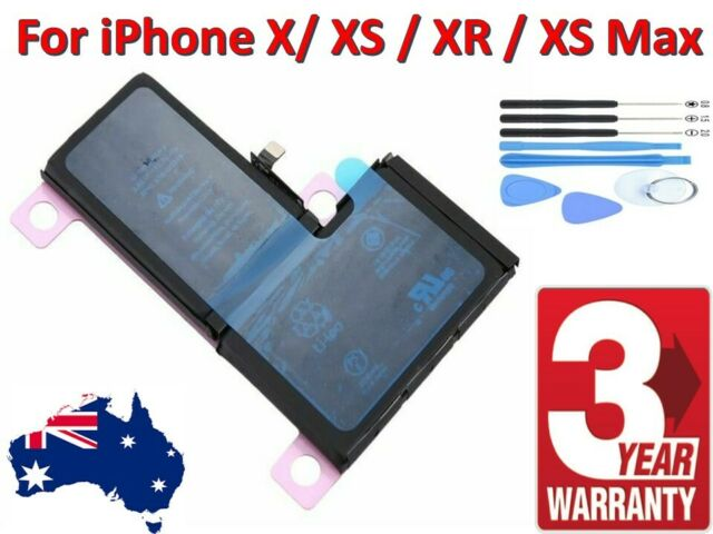 For Apple iPhone X / XS / XR / XS Max, Internal Battery Replacement + Tools