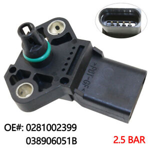 Fits Seat Ibiza MK4 1.4 16V Genuine Fuel Parts Intake Manifold Pressure Sensor