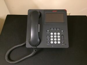 Details about USED AVAYA 9641G IP PHONE 700480627 GRAY W/ COLOR DISPLAY +  Bluetooth