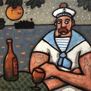 Tableau-Portrait-Matelot-Marin-Tourrier