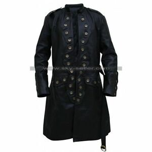 5746007835f2 DEAD MEN TELL NO TALES ORLANDO BLOOM TRENCH COAT Pirates of the ...