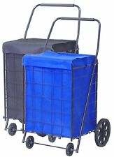 Shopping Cart PVC Liner Bag,16 D x 17 W x 24 H Inches,1 Pc
