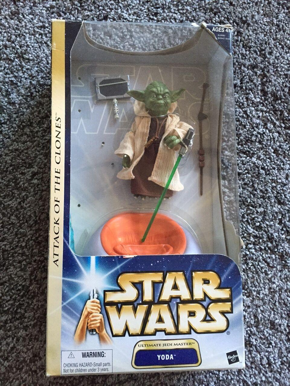 Estrella Wars Yoda 12 Pulgadas Escala Figura Nueva En Caja Sellado VHTF Ahsoka Saga oro Muy Raro De 3   4