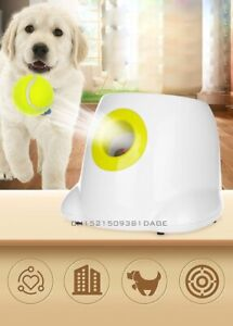 Pet Automatic Tennis Launcher Throwing Machine Interactive Tennis Ball Throw Toy