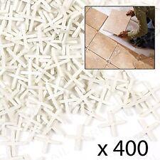 500 Tile Spacers 2mm Gap Floor Wall Tiling Grouting Cross Pack ...