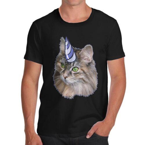 Twisted Envy Unicorn Cat Men/'s Funny T-Shirt