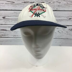 Vintage The Game New York Yankees MLB Cap Snapback Trucker Hat Made ... 8b80a276e03