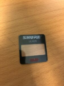 Genuine Shure Part QLXD2 LCD COVER
