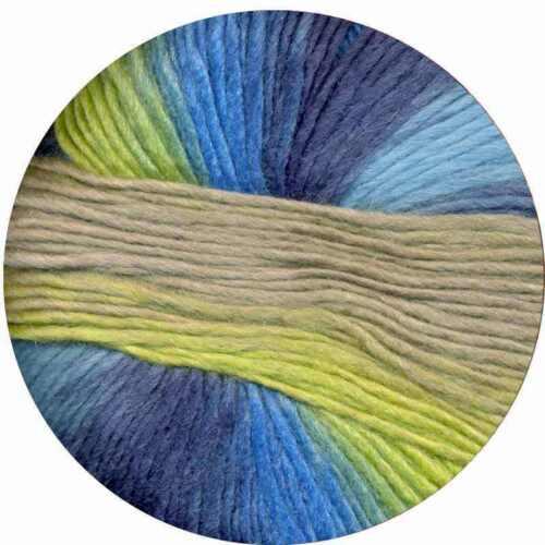 wool silk self-striping yarn Peter Pan :Amitola Grande #531: Louisa Harding