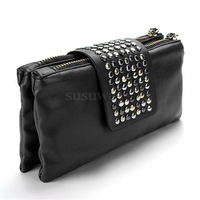 NEW Lady Women Card Coin Purse PU Leather Wallet Soft Holder ZIP Clutch Bag