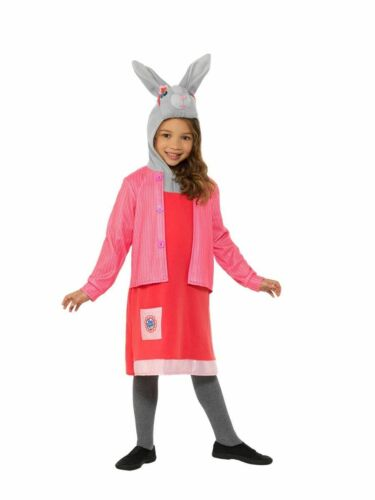 Filles Deluxe Lily Bobtail Peter Rabbit Fancy Dress Costume Movie World Book day