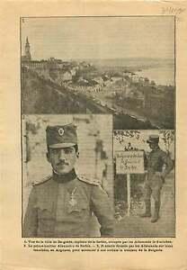 """WWI Belgrad Alexander I of Yugoslavia Serbia/Tranchée Argonne 1915 ILLUSTRATION - France - Commentaires du vendeur : """"OCCASION"""" - France"""