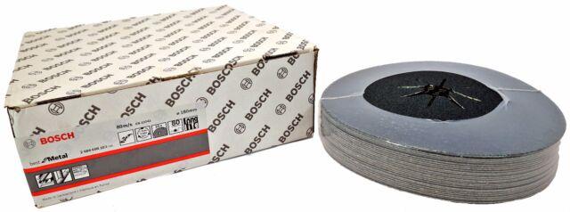 BOSCH 25 Schleifscheiben für Exzenterschleifer Best for Metall Ø 180 mm K80