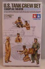 Tamiya  1:35  US TANK CREW EUROPEAN  TAM35347-NEW