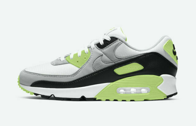 Size 8 - Nike Air Max 90 Lime 2020