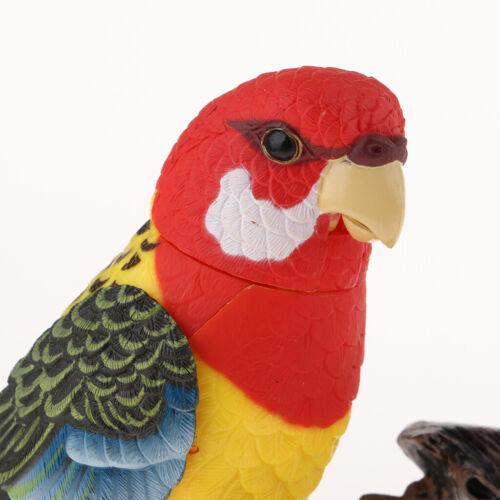 Elektrische Zwitschernde Sprechende Papageien Toy Voice Sensor Simulating Birds