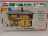 Model Power Ho 403 Railroad Signal Building Model Kit In Original Box
