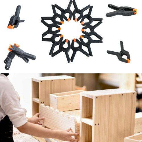 20PCS//30PCS Tools Woodworking Grip Hard Plastic 2inch Toggle Clamps Spring Clip