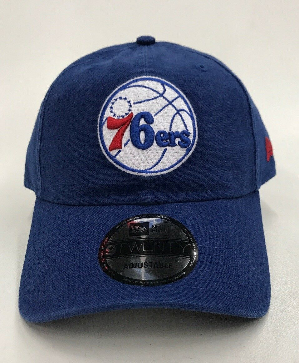 New Era 9twenty Strapback Philadelphia Rare 76ers NBA Nice New Rare Philadelphia One Of One 0119ac