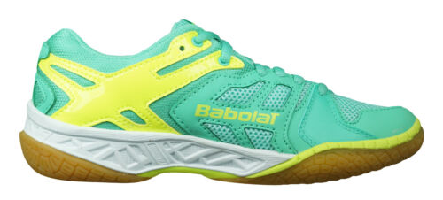 Details about  /Babolat Shadow Team Womens Badminton Shoes Indoor Court Trainers Green