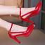 Women-Ladies-Pointed-Toe-High-Heel-Stilettos-Hollow-Pumps-Ankle-Strap-Dress-Work thumbnail 15