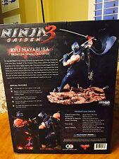 Ninja Gaiden III 3 Ryu Hayabusa Retro Blue Variant Statue 1/6 Scale NUM 68/100