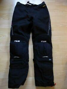 Wie-neu-Textil-Motorradhose-von-Polo-FLM-fur-Herren-mit-Bundweite-43