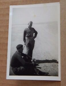 Photograph Military History 2 Soldiers relaxing in the Desert Egypt 1950039s - Rossendale, United Kingdom - Photograph Military History 2 Soldiers relaxing in the Desert Egypt 1950039s - Rossendale, United Kingdom