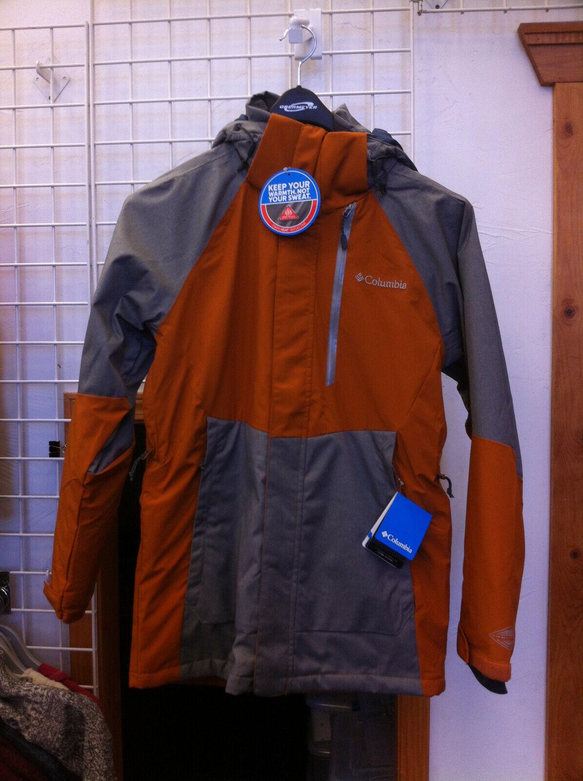 Para hombre chaqueta de Color brillante cobre Columbia Wildside  Tamaño Mediano  Sin impuestos
