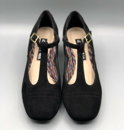 Suede Dee V D New Black Court 3 sondra Uk Smart a Heels Ladies Clarks TCXwqO