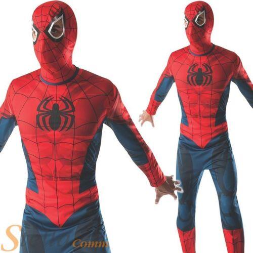 Mens Amazing Spiderman Superhero Adult Fancy Dress Costume Outfit