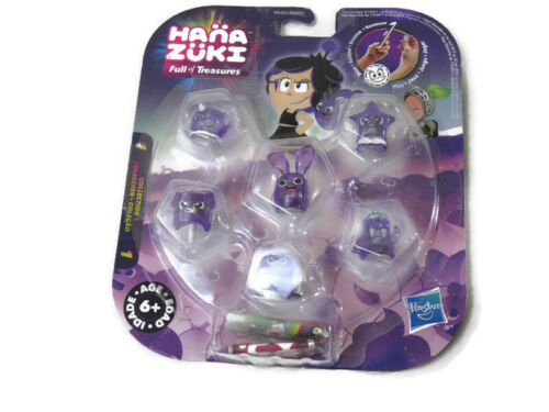 Hana Zuki Full of Treasures Purple Collection 6-Pack Scan and Play Hasbro NIP