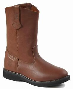 Rhino-98M32-Mens-Brown-Leather-11-Inch-Boots
