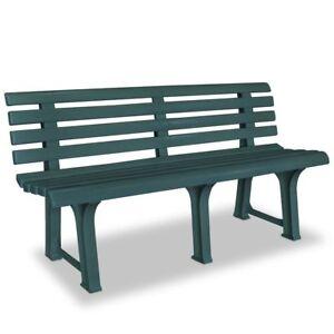 Image Is Loading Plastic Garden Lounge Outdoor Bench Seat Doorway Leisure