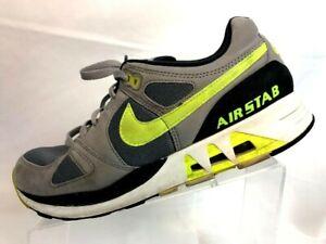 d372a7c208843 Nike Air Stab Premium US Size 10.5 Gray Neon Yellow 312451-003 | eBay
