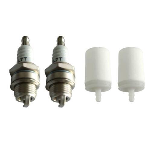 Fuel Filter Spark Plugs Fits Husqvarna 50 51 55 61 268 272 XP 345 350 351 353