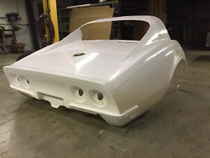 Details about 1968-69 C3 Corvette Stock Coupe Rear Clip ACI Fiberglass NEW!  Made in USA!
