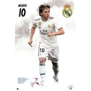"""LUKA MODRIC REAL MADRID (CROATIA) PLAYER WALL POSTER 24'X36"""" OFFICIALLY LICENSED"""