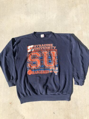 VIntage Syracuse University Orangemen Crew Neck Sw