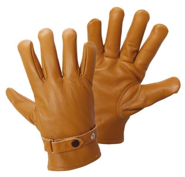 Herrenhandschuh aus edlem Nappaleder braun Gr. 9-11 Handschuhe Fahrerhandschuhe