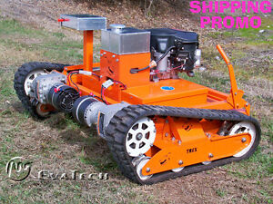 Trex 44 Remote Rc Hybrid Drive Commercial Slope Mower
