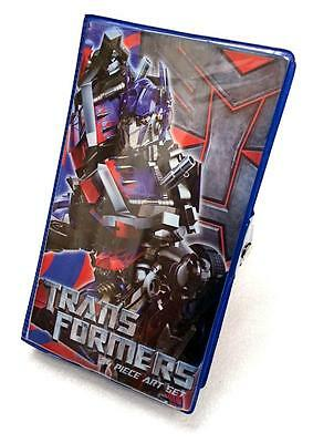 Transformers 34 Piece Art Set - Pens Crayons Paints - Everything You Need!