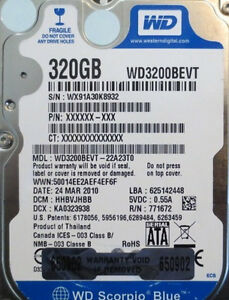 WD3200BEVT WINDOWS 7 X64 DRIVER DOWNLOAD