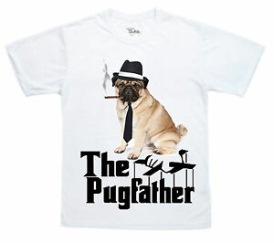 6da8405d0 The Pug Father Funny Pug T-Shirt can be personalised great gift for ...
