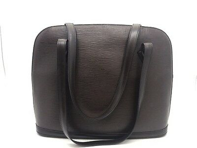 Louis Vuitton Epi Piel Lussac Bolso De Mano Marrón